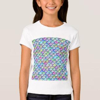 Falln Rainbow Bubble Mermaid Scales Shirt
