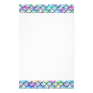 Falln Rainbow Bubble Mermaid Scales Stationery