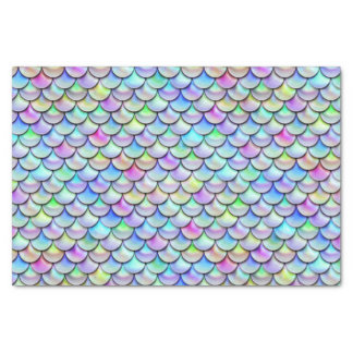 Falln Rainbow Bubble Mermaid Scales Tissue Paper
