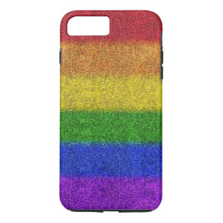 Falln Rainbow Glitter Gradient iPhone 7 Plus Case