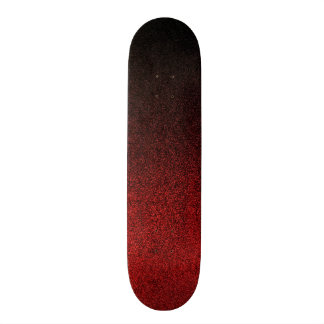 Falln Red & Black Glitter Gradient 20 Cm Skateboard Deck