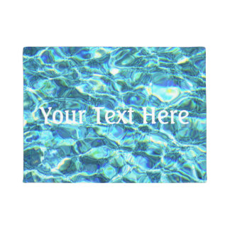 Falln Shimmering Water Doormat