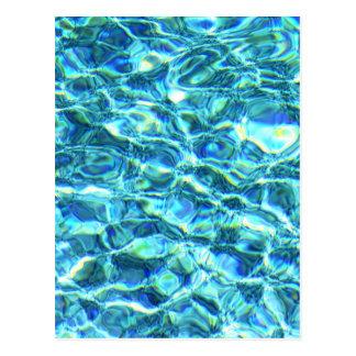 Falln Shimmering Water Postcard