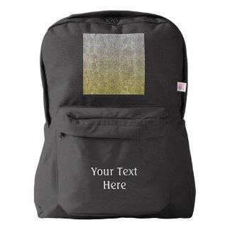 Falln Silver & Gold Glitter Gradient Backpack