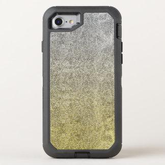 Falln Silver & Gold Glitter Gradient OtterBox Defender iPhone 7 Case