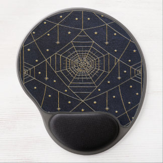Falln Spider Silk Stars Book Gel Mouse Pad