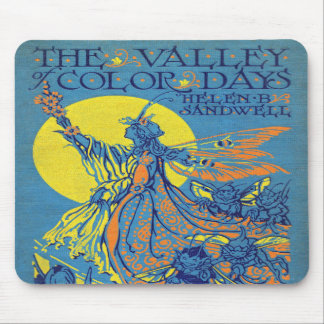 Falln The Valley of Color Days Book Mouse Pad