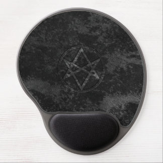 Falln Unicursal Hexagram Dark Gel Mouse Pad