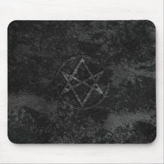 Falln Unicursal Hexagram Dark Mouse Pad