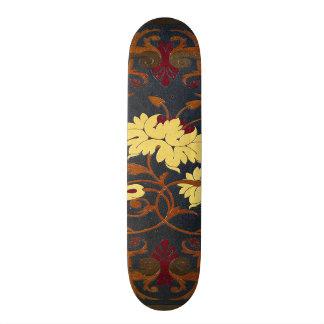 Falln Victorian Vines Book Custom Skate Board