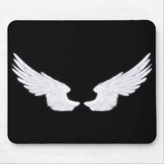 Falln White Angel Wings Mouse Mat