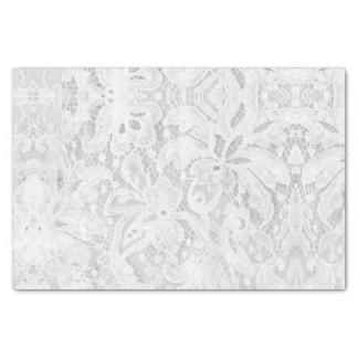 Falln White Lace Tissue Paper