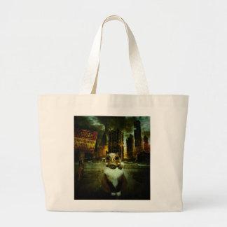 Fallout Kitty Jumbo Tote Bag
