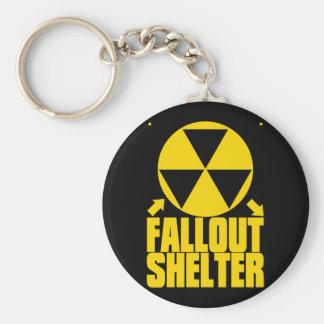 Fallout_Shelter Basic Round Button Key Ring