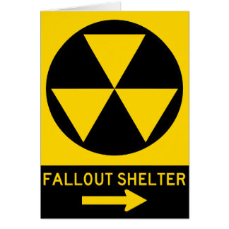 Fallout Shelter Guide Highway Sign Card