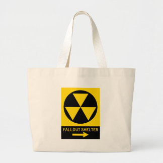 Fallout Shelter Guide Highway Sign Canvas Bag