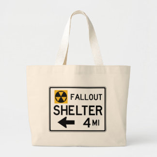 Fallout Shelter Street Sign Bags