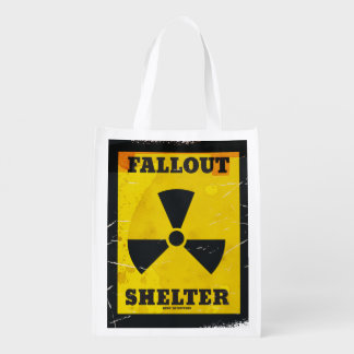 Fallout Shelter vintage warning poster