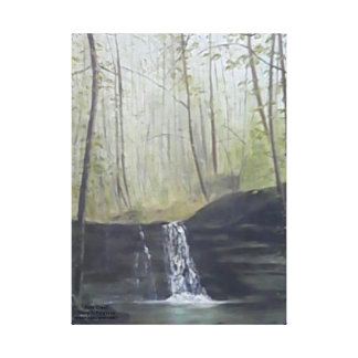 FALLS CREEK WATERFALL WRAPPED CANVAS PRINT