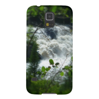 Falls In Forest Frame Galaxy S5 Cases