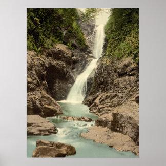 Falls in Glenariff, County Antrim archival print