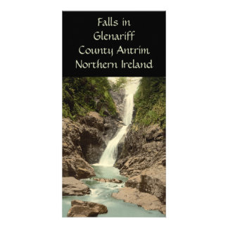 Falls in Glenariff County Antrim Custom Photo Card