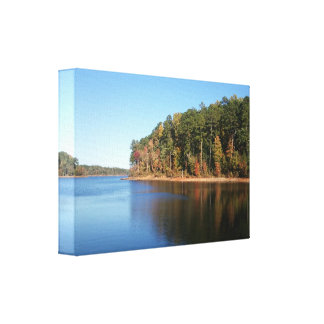 Falls Lake, NC Canvas Canvas Prints