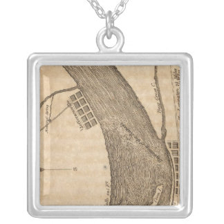 Falls of Ohio Silver Plated Necklace