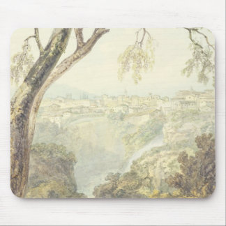 Falls of the Anio (w/c) Mouse Mat