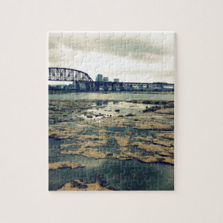 Falls of the Ohio Fossil Beds at Dusk Jigsaw Puzzle