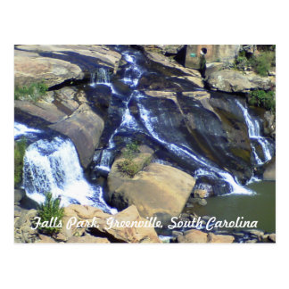 Falls Park, Greenville, SC Postcard