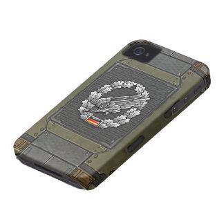 Fallschirmjägertruppe Barettabzeichen iPhone 4 Case