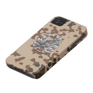 Fallschirmjägertruppe Barettabzeichen iPhone 4 Case-Mate Case