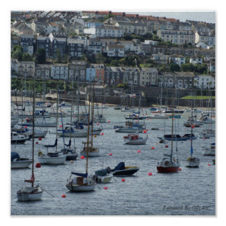 Falmouth By OllyArt Photography Poster