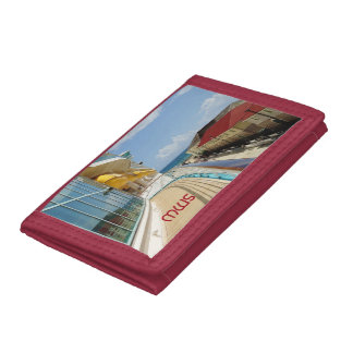 Falmouth Dockside Monogrammed Trifold Wallet