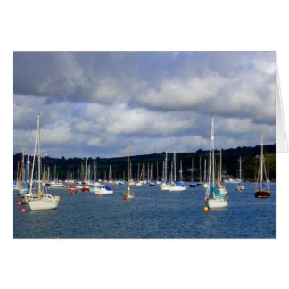 Falmouth Harbour, Cornwall Greeting Cards