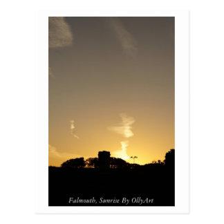 Falmouth, Sunrise By OllyArt Photography Postcard