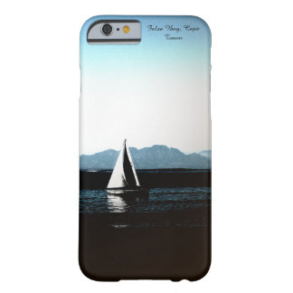 False Bay, Cape Town sailing boat Barely There iPhone 6 Case