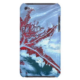 False color satellite barely there iPod case