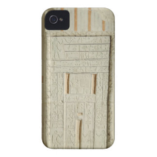 False door of Sheshi, c.2300-2200 BC (painted lime Case-Mate iPhone 4 Case