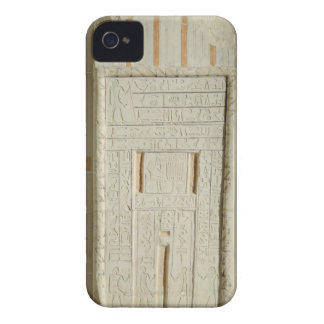 False door of Sheshi, c.2300-2200 BC (painted lime iPhone 4 Case-Mate Case