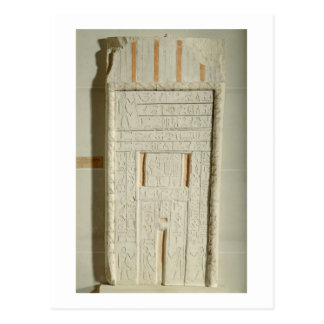 False door of Sheshi, c.2300-2200 BC (painted lime Postcards