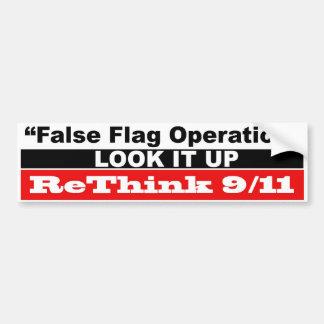 False Flag Operation Bumper Sticker