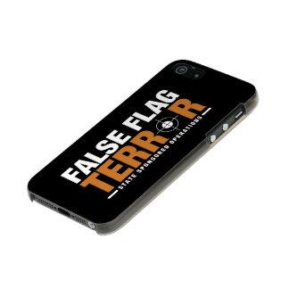 False Flag Terror iPhone 5/5s Case Incipio Feather® Shine iPhone 5 Case