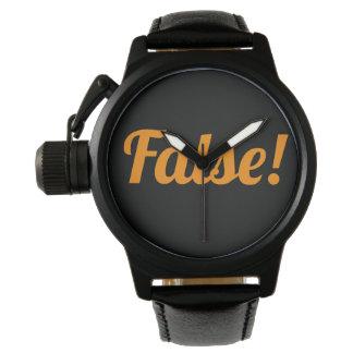 False! High Class Watch! for Halloween Watch