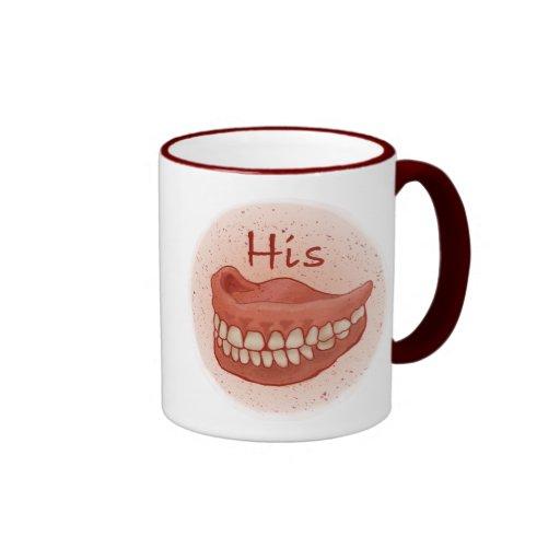 False Teeth His Coffee Mug