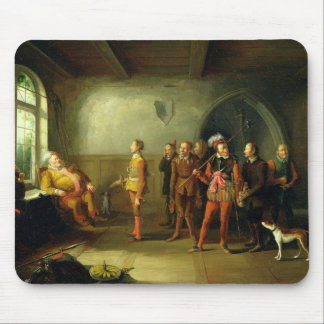 Falstaff and the Recruits, from 'Henry IV, Part II Mousepads