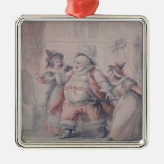 Falstaff's Escape Christmas Ornament