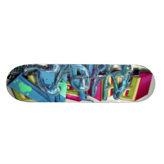 Fame On The Go - Wet Tag Skate Board