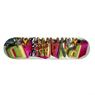 Fame On The Go - Wild Zoo Skate Board Deck